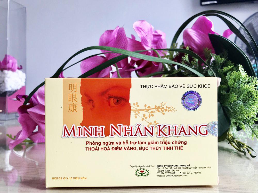 Minh Nhãn Khang – Giải pháp bảo vệ thị lực tối ưu cho người bị glocom
